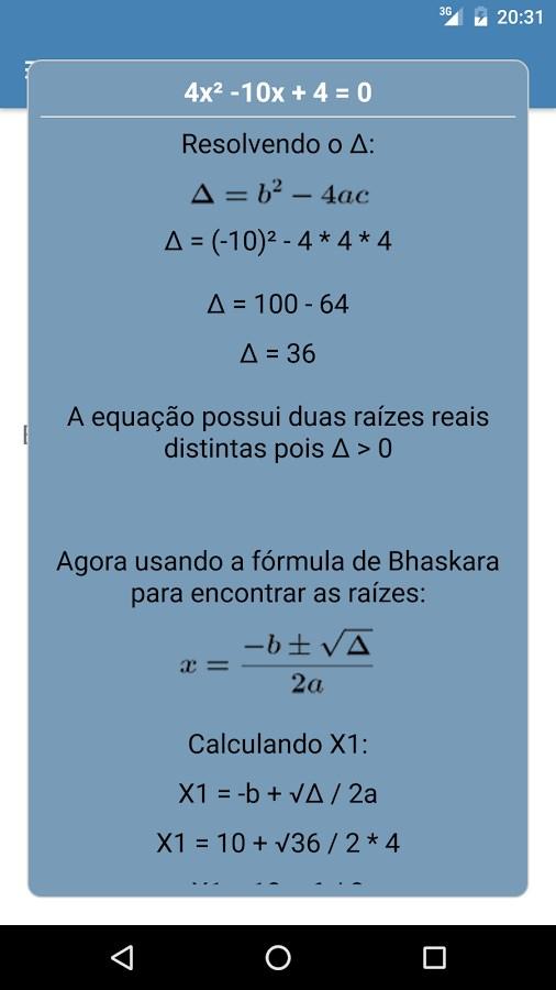 Calculando - Imagem 2 do software