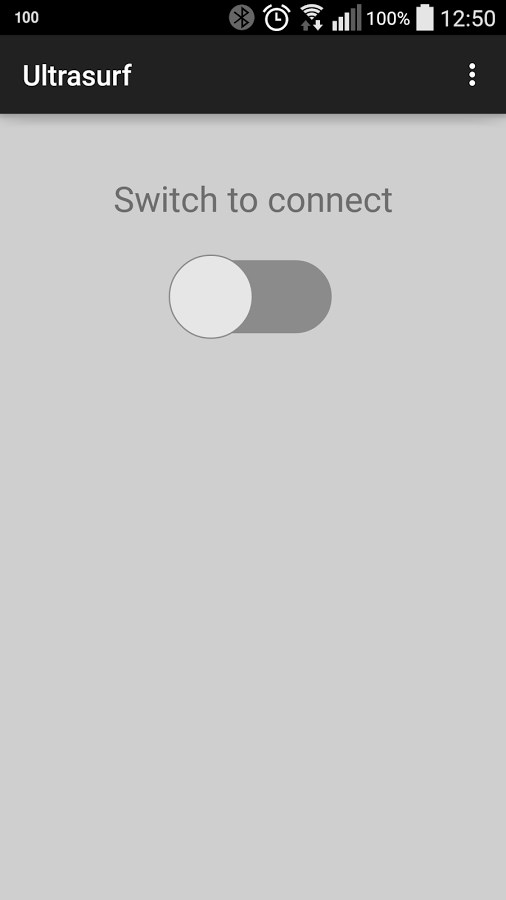 Ultrasurf VPN (beta) - Imagem 1 do software