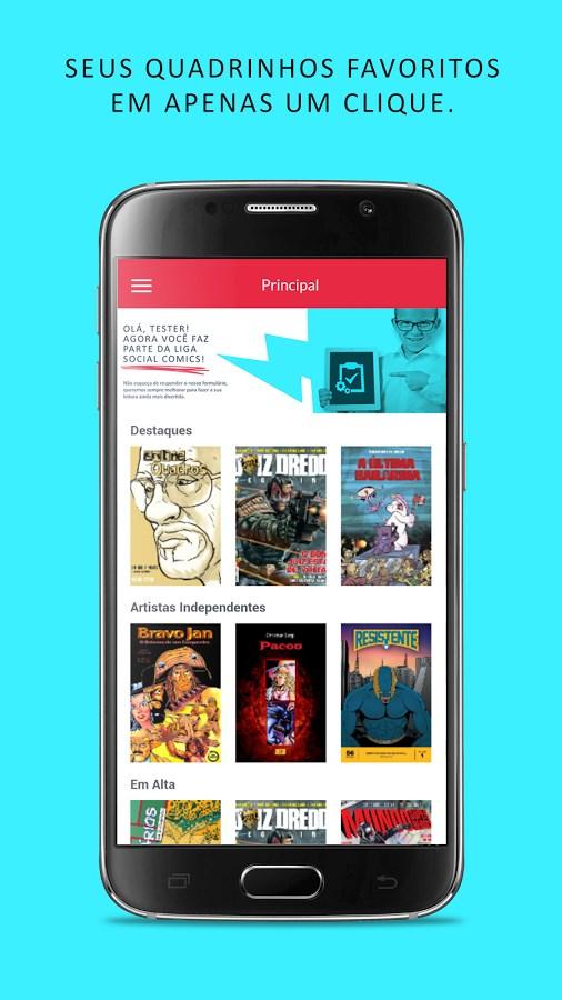 Social Comics - Imagem 1 do software
