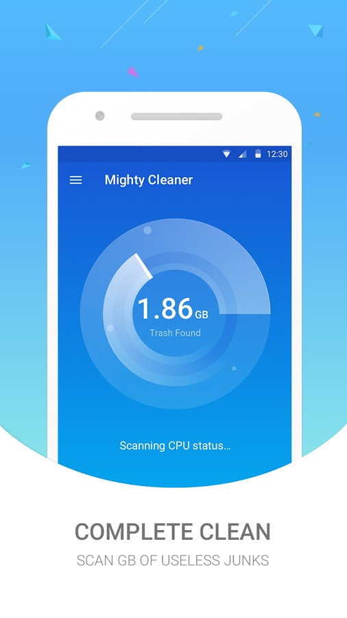 Mighty Cleaner - Clean Cache - Imagem 1 do software