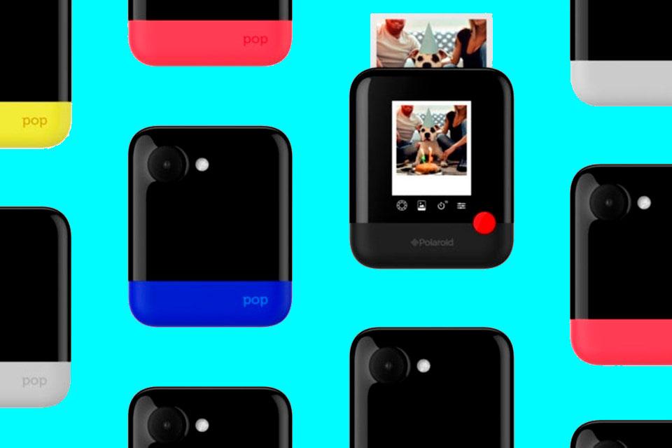 "Diga ""X""  Polaroid anuncia Polaroid Pop durante a CES 2017 - TecMundo 2ae3d11619"