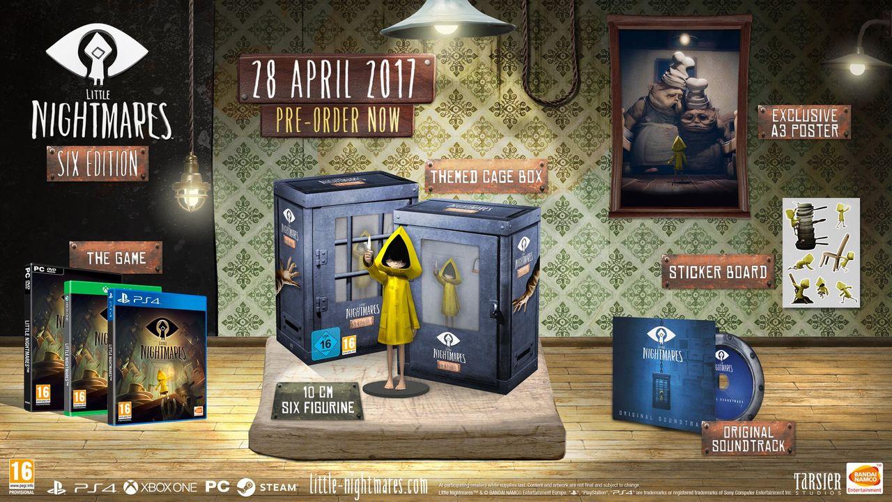 Com edição especial, Little Nightmares sai no final de abril
