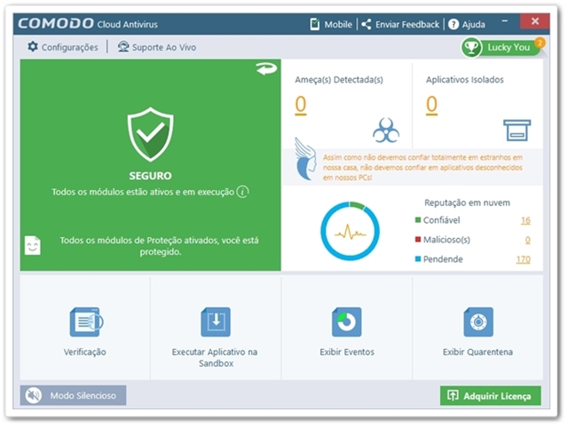 Comodo Cloud Antivirus 2017 versão completa free download