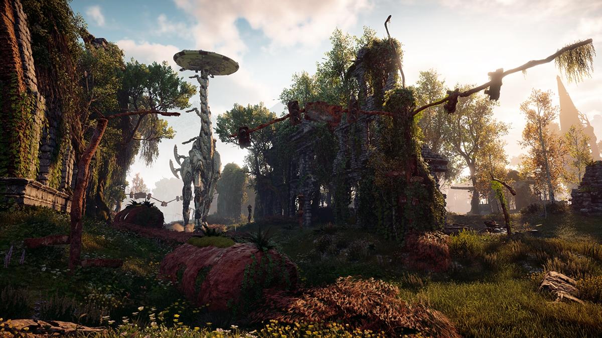 Novas imagens de Horizon: Zero Dawn mostram lindos ambientes e mundo imenso
