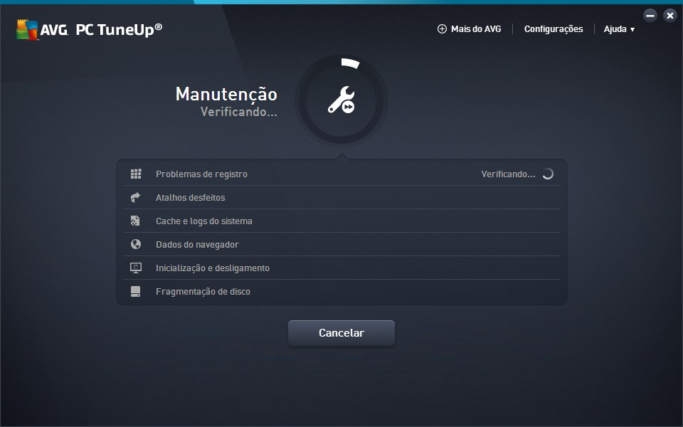 AVG PC Tuneup - Imagem 2 do software