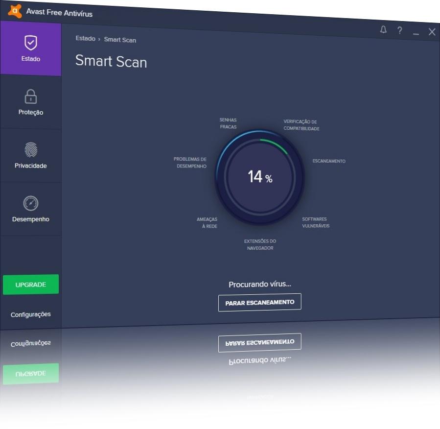 Avast Free Antivirus 2020 para Mac - Imagem 1 do software