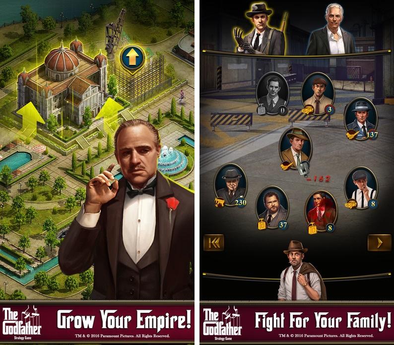 O Poderoso Chefão chega ao universo mobile com novo game de estratégia