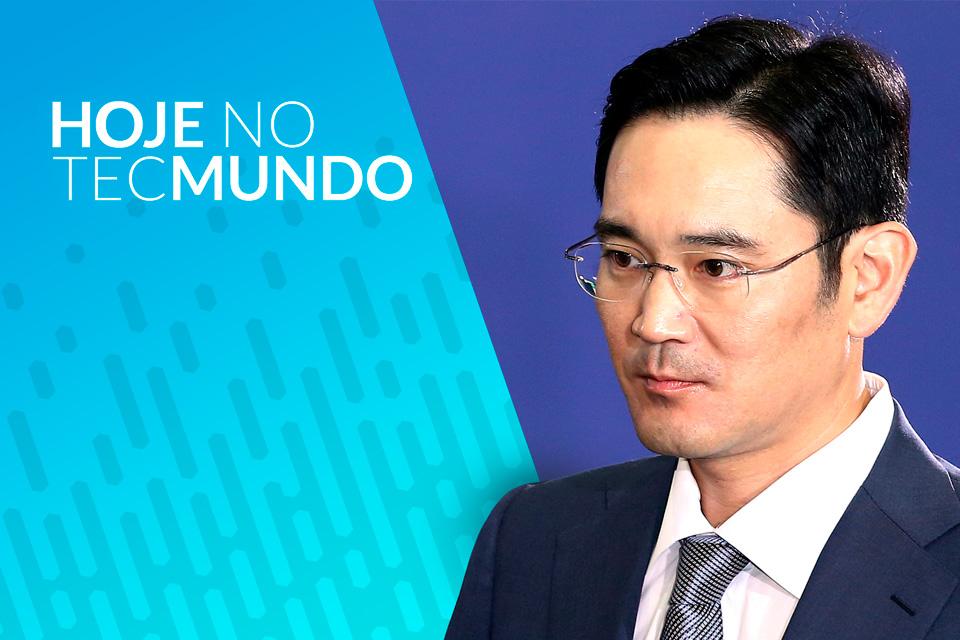 Chefão da Samsung preso por corrupção - Hoje no TecMundo
