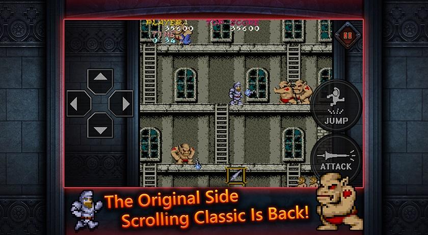 O clássico (e impossível) Ghost 'n Goblins agora está no Android e iOS