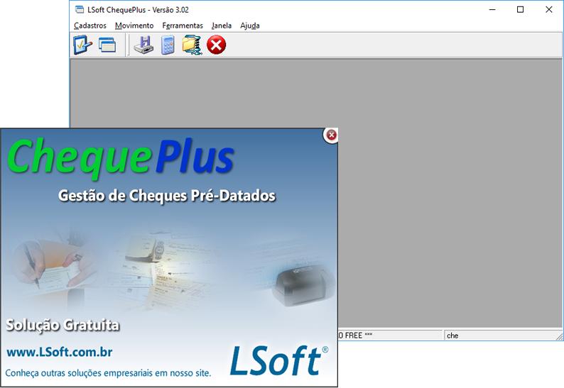LSoft ChequePlus - Imagem 1 do software