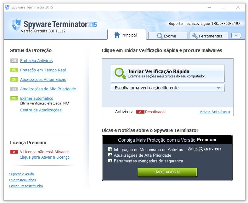 Spyware Terminator - Imagem 1 do software