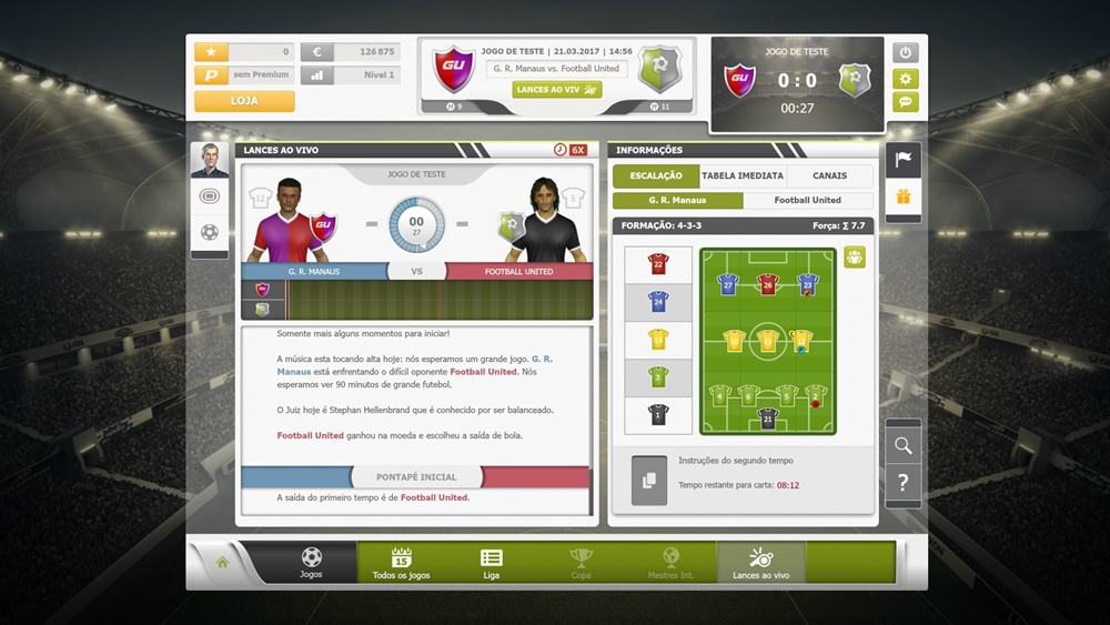 GoalUnited - Imagem 1 do software