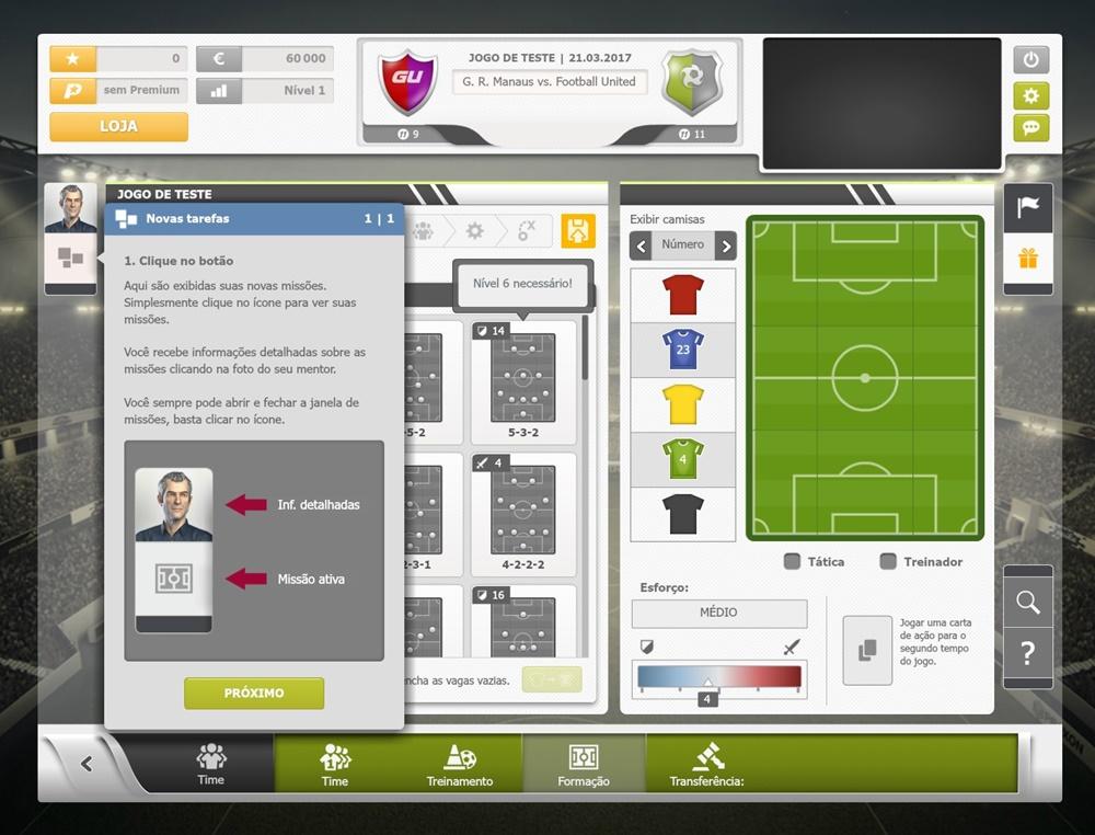GoalUnited - Imagem 2 do software