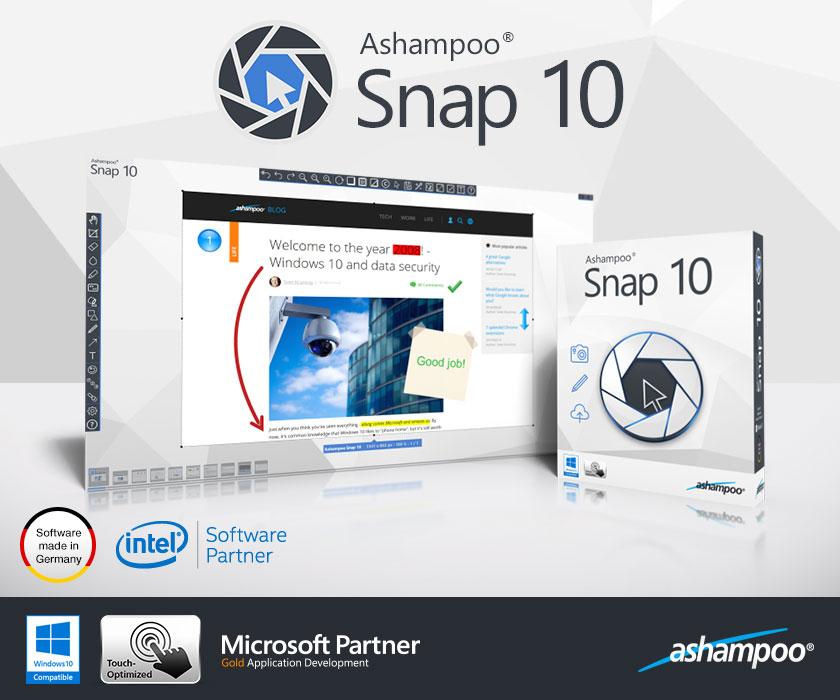 Ashampoo Snap - Imagem 1 do software