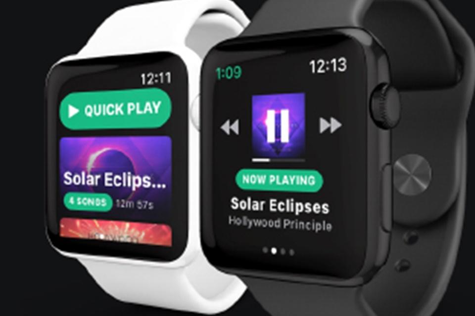 4a08e0ab49b  Spotify  deve chegar ao Apple Watch com música offline em breve.