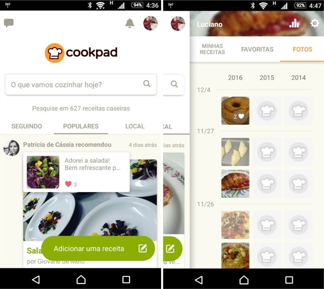 Cookpad - Receitas - Imagem 1 do software