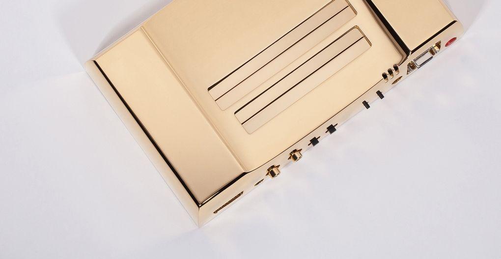 Edição folheada a ouro do NES é somente para colecionadores endinheirados