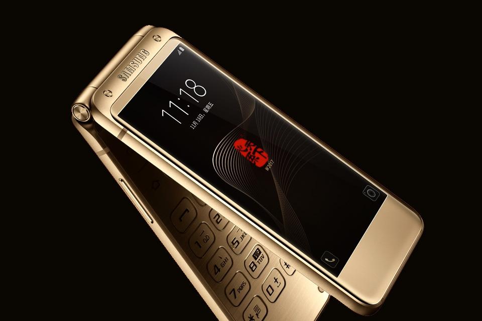 Celular top de linha com flip da Samsung deve sair na Coreia do Sul
