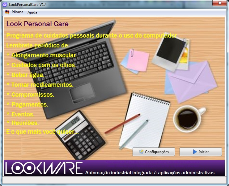Look Personal Care - Imagem 1 do software
