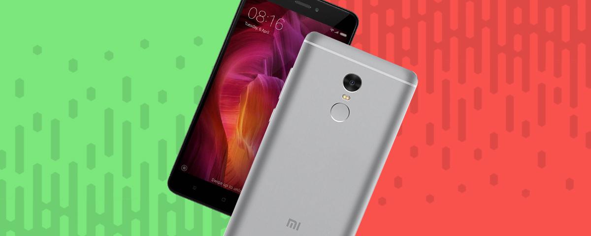 Xiaomi Redmi Note 4: cinco prós e contras em relação aos