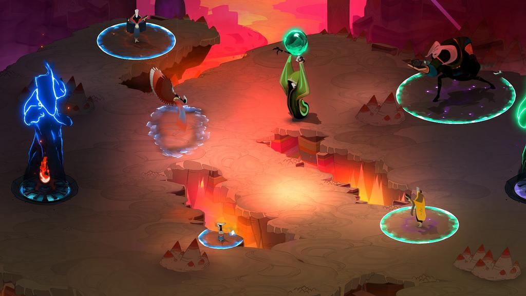 Pyre, novo jogo da Supergiant Games (de Bastion), será lançado em julho