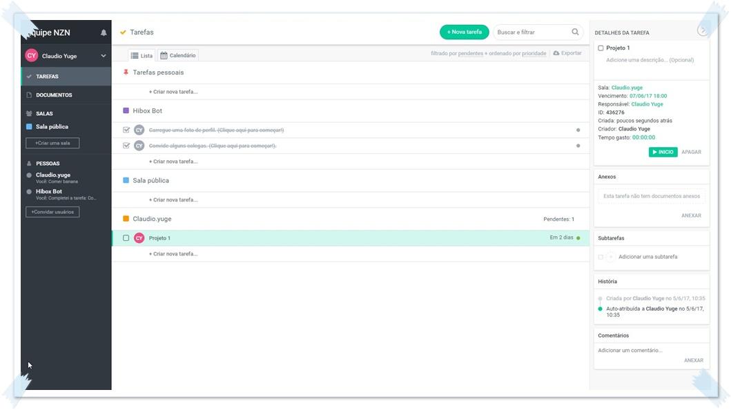 Hibox - Imagem 1 do software