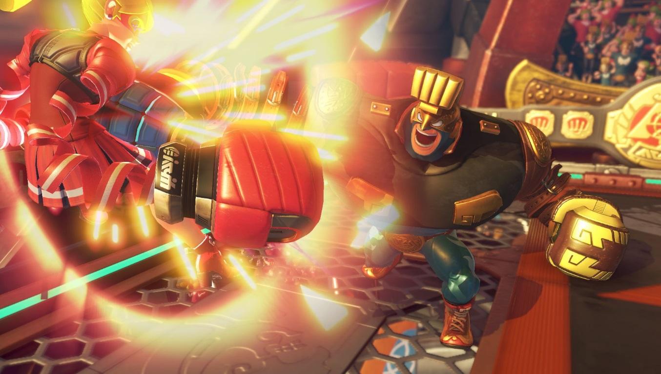 Nintendo revela primeiro (e gratuito) personagem via DLC de ARMS