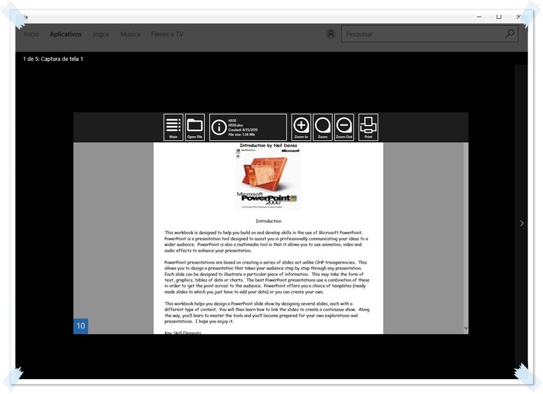 Document Reader & Editor - Imagem 1 do software