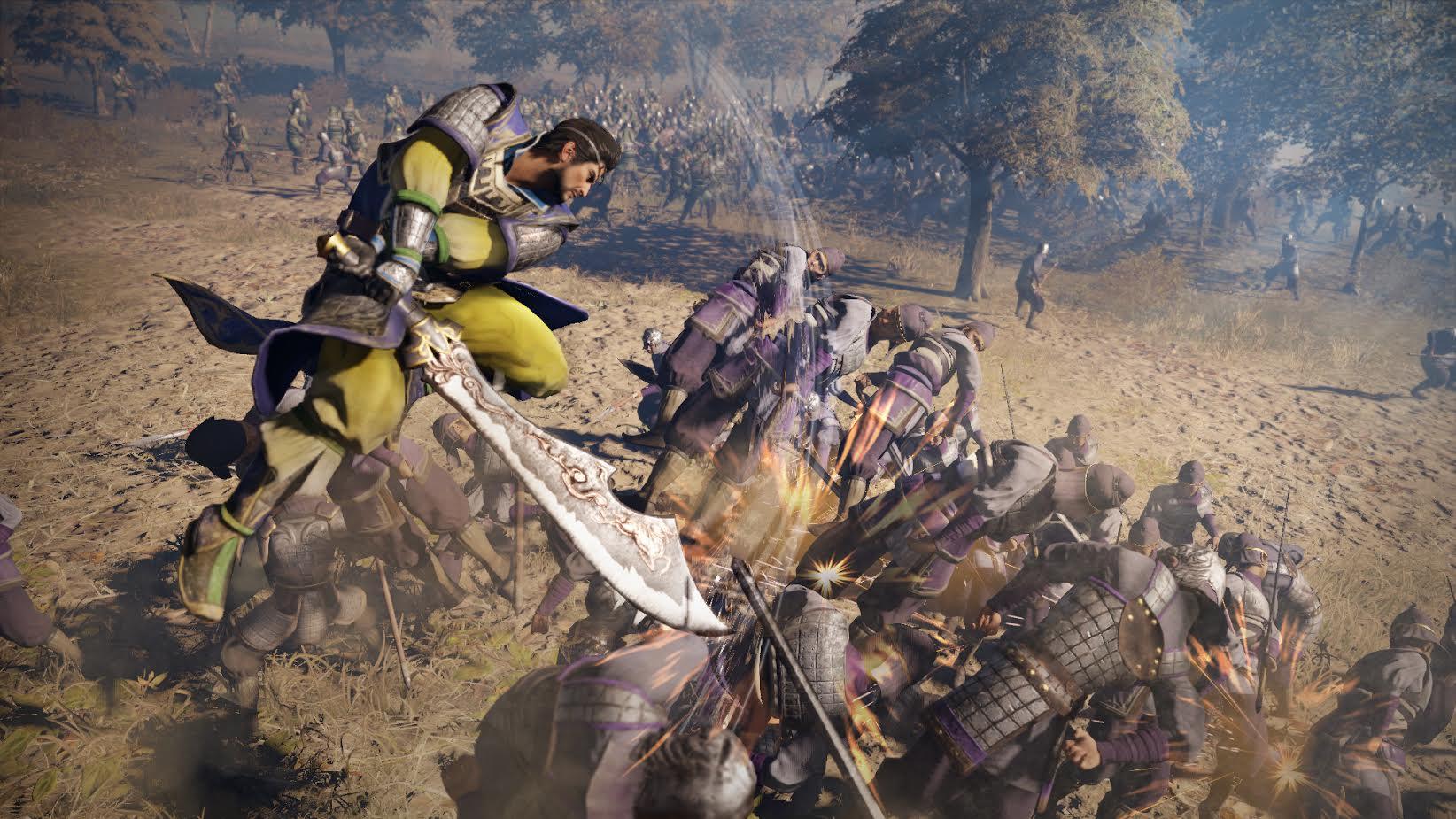 Reveladas novas imagens e detalhes do gameplay de Dynasty Warriors 9