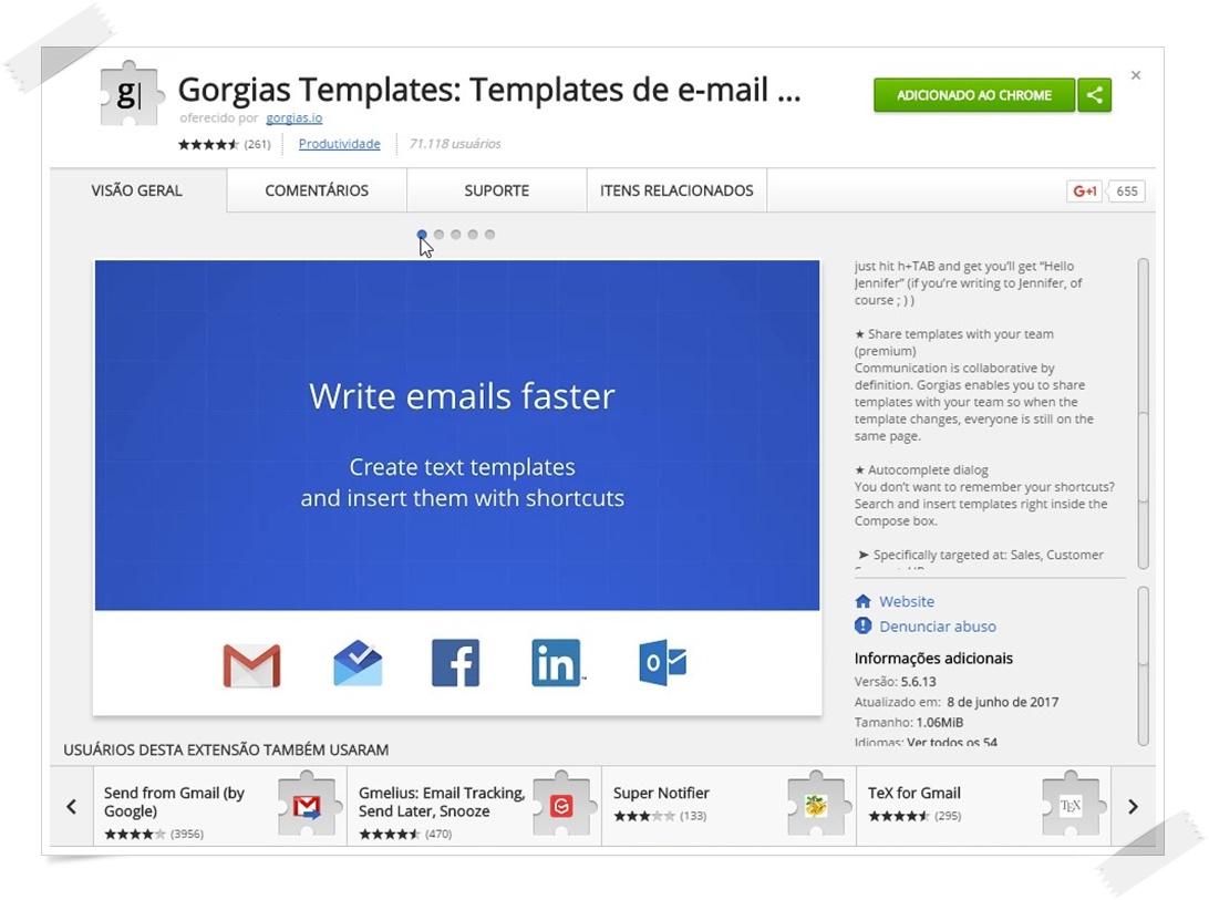 Gorgias Templates - Imagem 1 do software