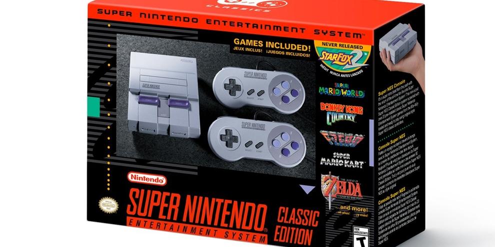 Imagem de Surpresa! Super Nintendo Mini chegará em setembro e tem detalhes revelados no tecmundogames