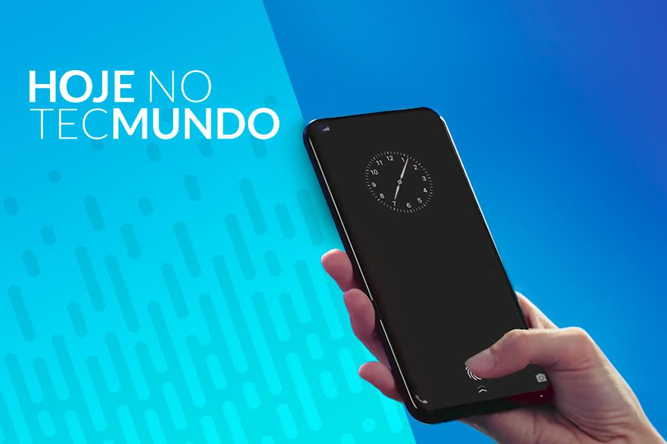 757aec0e8 Fabricante Vivo demonstra biometria na tela de celular - Hoje no TecMundo