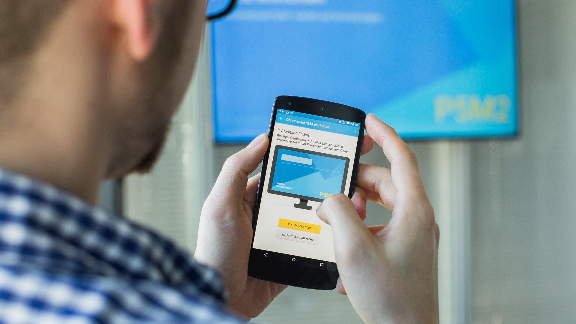 Como transmitir a tela do celular na TV usando o Chromecast - TecMundo