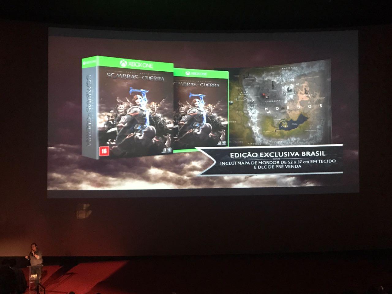 Shadow of War terá versão física BR com anel de Celebrimbor e brindes; veja