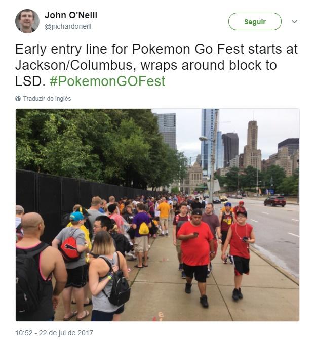 Ah, Niantic! É claro que o 1º evento oficial de Pokémon GO deu MUITO errado
