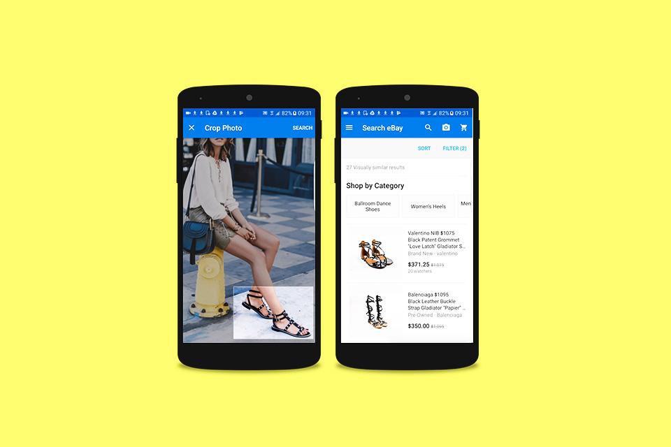 Ebay tecmundo ebay permitir que usurios encontrem produtos usando imagens nas buscas stopboris Choice Image