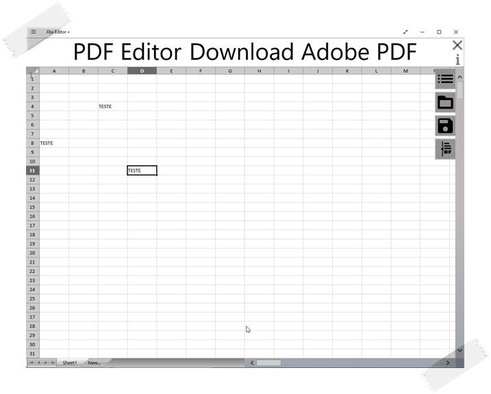 Xlsx Editor + - Imagem 1 do software