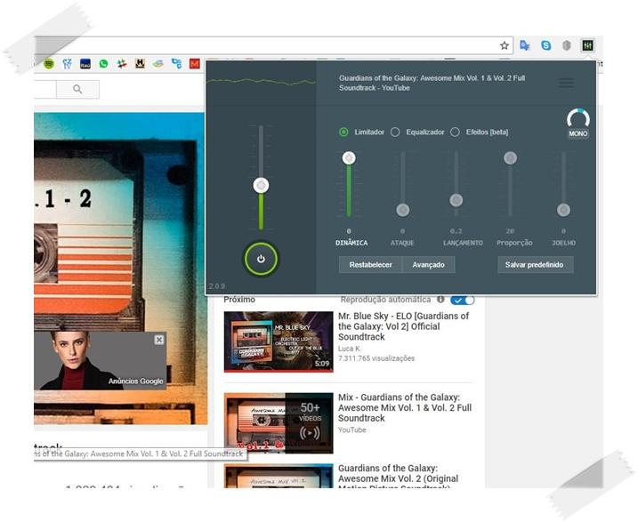 Canal de Áudio - Imagem 1 do software