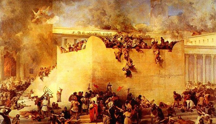 01153434466694 Historiadores atestiguan el pasaje bíblico sobre el incendio de Jerusalén