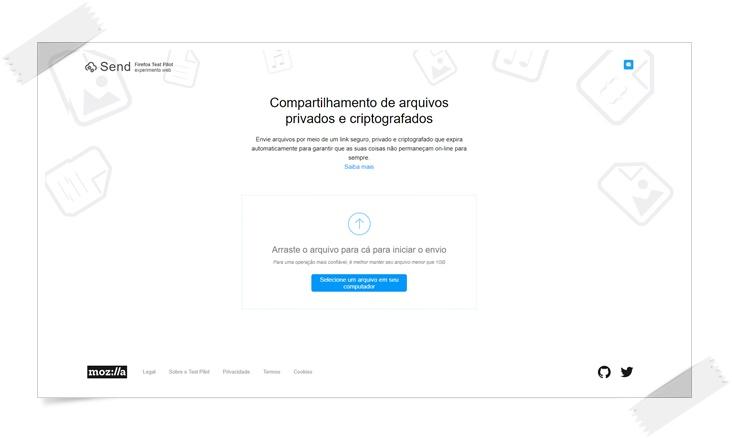 Firefox Send - Imagem 1 do software