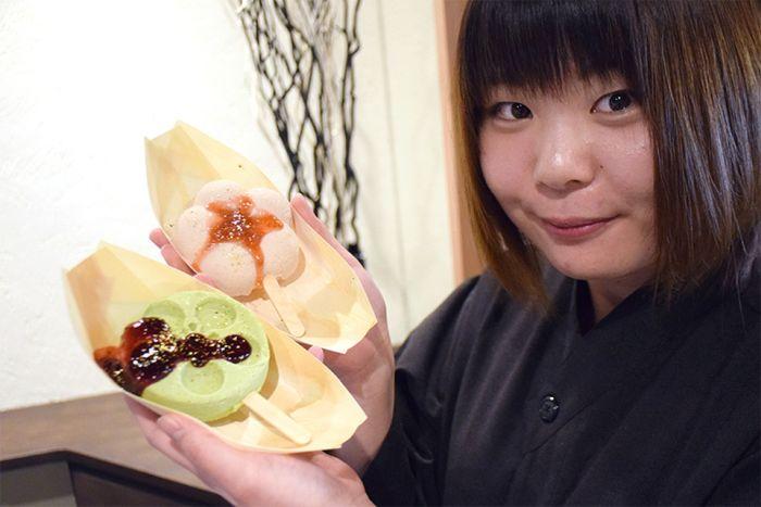 Científicos japoneses descubren un helado que no se derrite