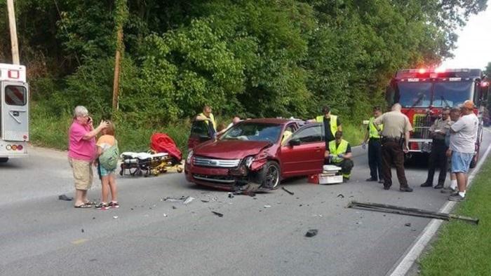 O estrago foi grande, mas espere até saber o que aconteceu com a passageira! (Crédito: Reprodução)