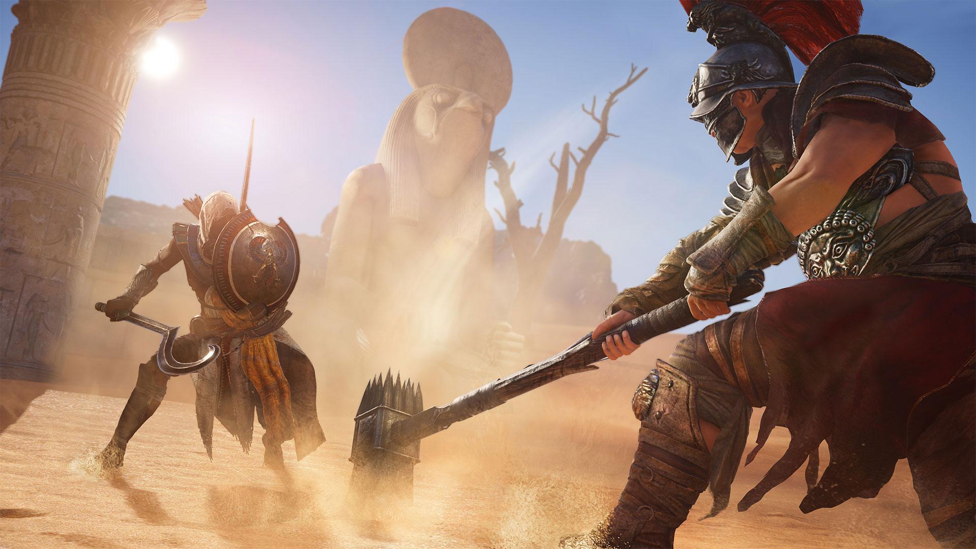 Imagem de Assassins' Creed Origins ganha vídeo explicando melhor o sistema de combate no tecmundogames