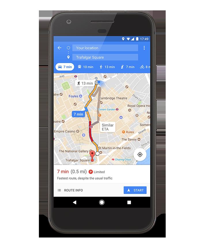 Aplicativo do Google encontrará vagas para você estacionar o carro; como funcionará