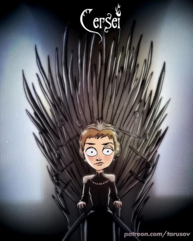 05170408187369 Ver Game of Thrones sería si fuese hecho por Tim Burton