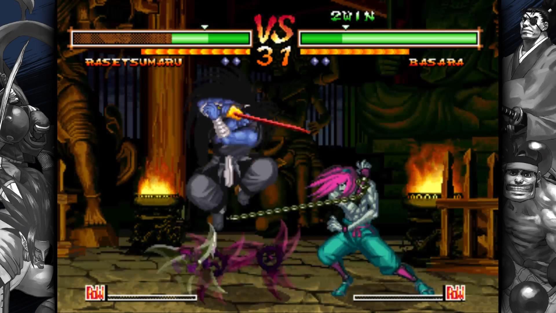 Samurai Shodown V Special ganha trailer de lançamento para o PS4 e PS Vita