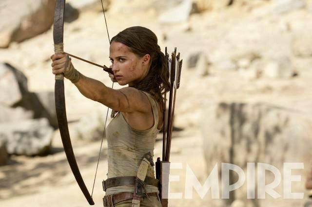 Lara Croft no novo Tomb Raider