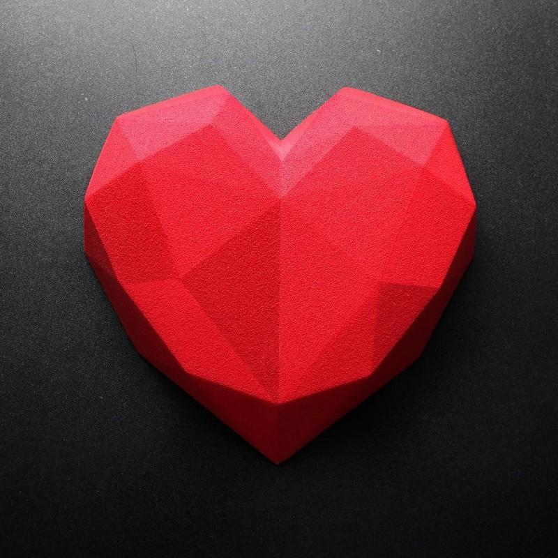 bolo de coração