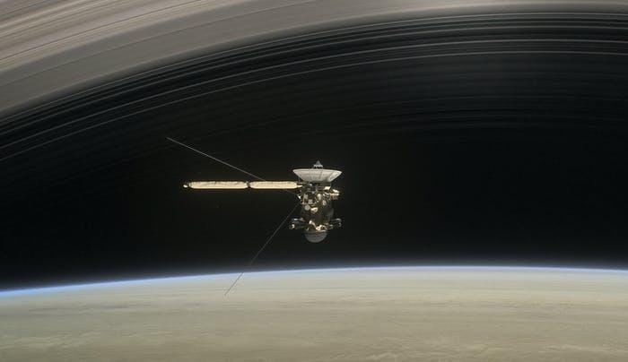 Cassini em Saturno