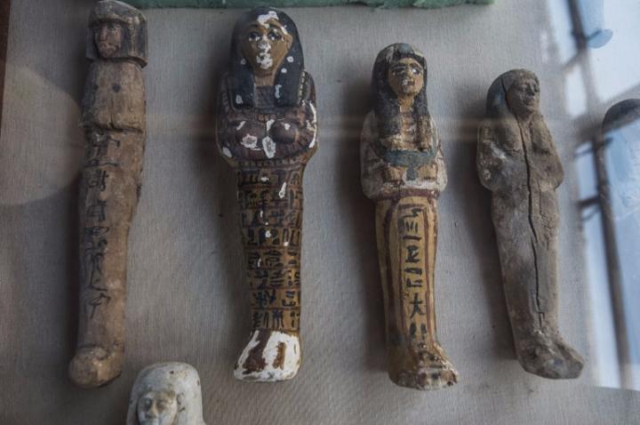 estátuas funerárias egípcias
